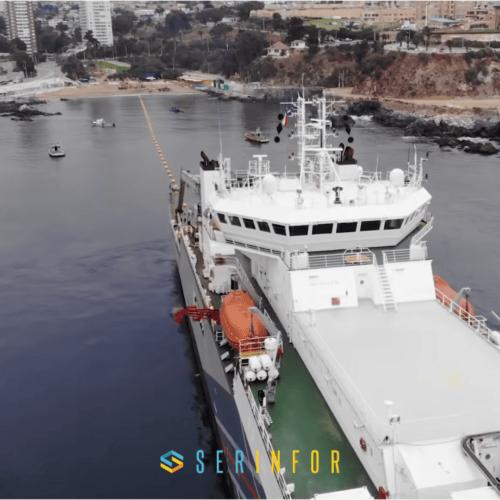 Ya ha llegado a Sopelana el gran cable submarino de Google
