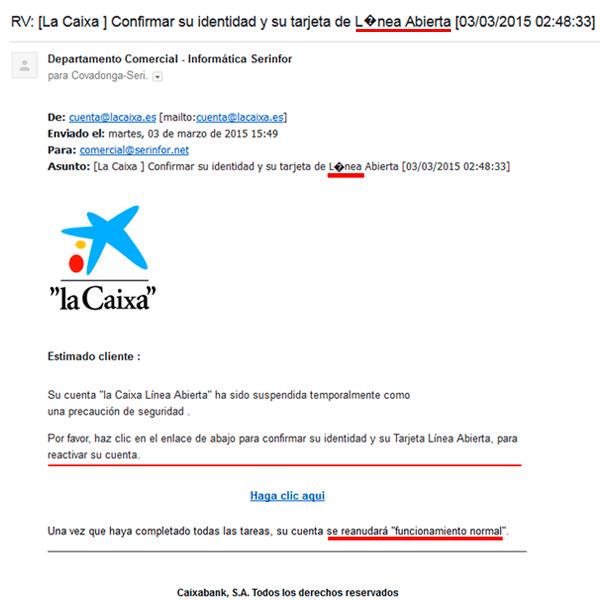 Phishing-LaCaixa