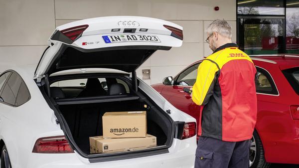 Amazon entregará a sus clientes de Audi los paquetes directos al coche
