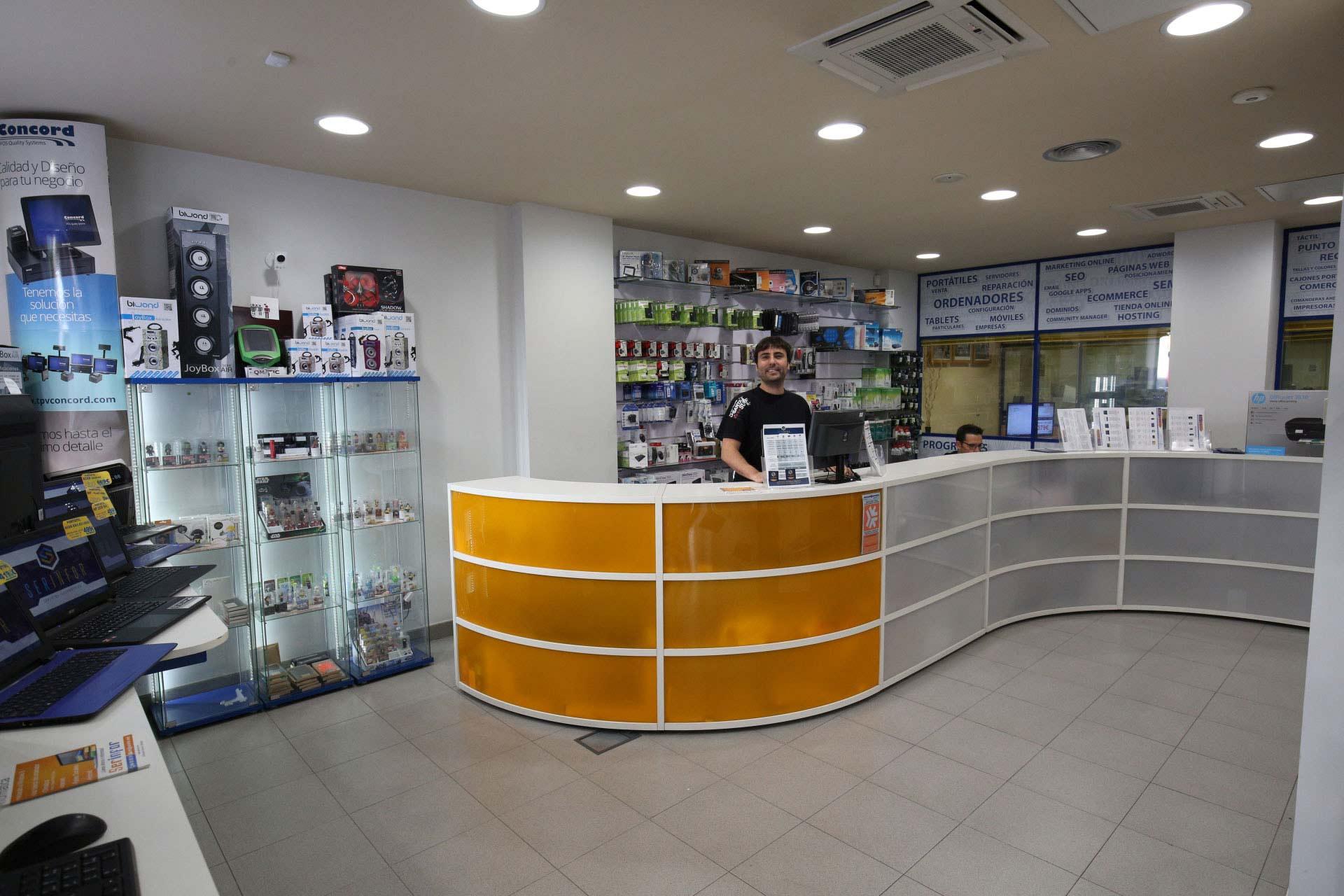 Tienda de informática en Bilbao