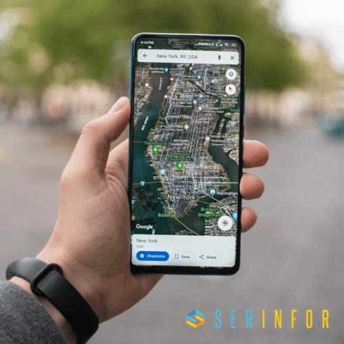 Google Maps mostrará mapas más detallados.