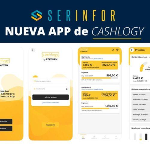 ¡Nueva App para el Cajón de Azkoyen Cashlogy!
