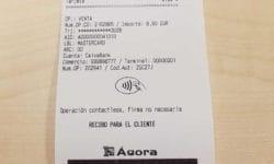 agora ticket