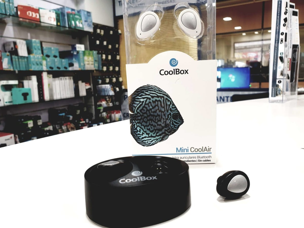 Coolbox auriculares Bluetotth-Manos Libres Coolair