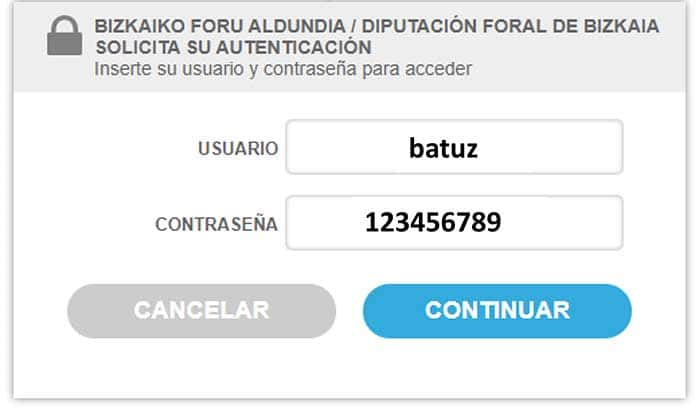 Comprobación de facturas - TicketBai