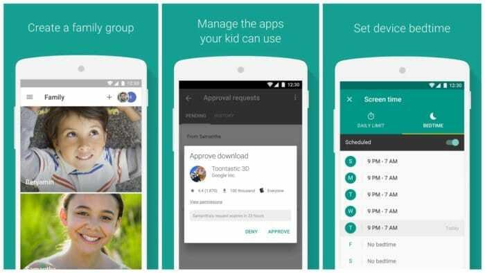 Family Link, controla el uso del móvil de tus hijos