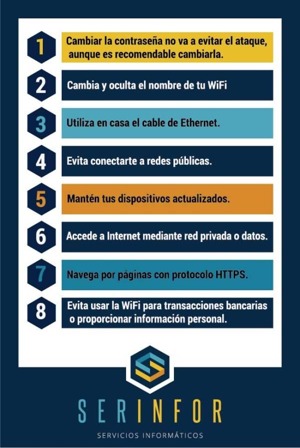 Consejos para prevenir un ataque a través del WiFi